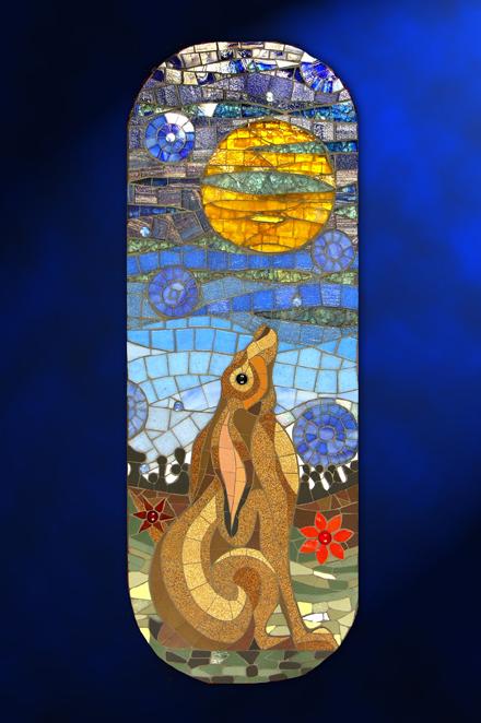 Moon-gazing hare