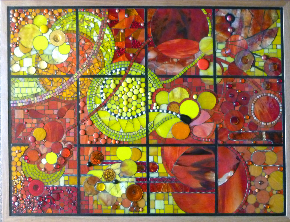 Mural for Malton hospital. Each panel is 2 metres x 1 metre  2013