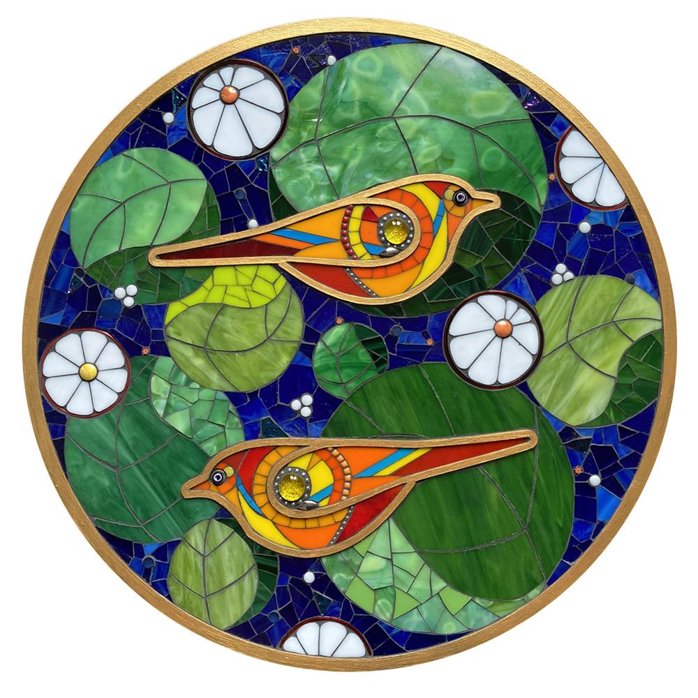 Birds and circles